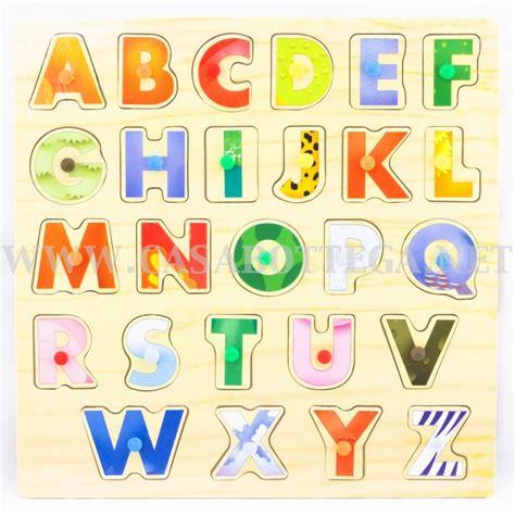 lettere alfabeto in legno puzzle didattico lettere in legno alfabeto bambini scuola
