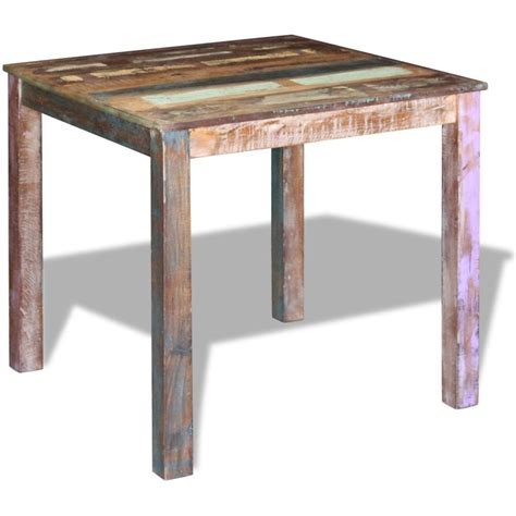 Reclaimed Solid Wood Dining Table Vidaxl Co Uk Vidaxl Dining Table Solid Reclaimed Wood