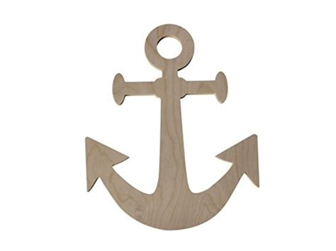 toy boat anchor custom woodworks 17 quot unfinished wooden boat anchor