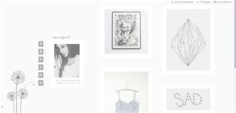 tumblr themes monochrome ocehans themes