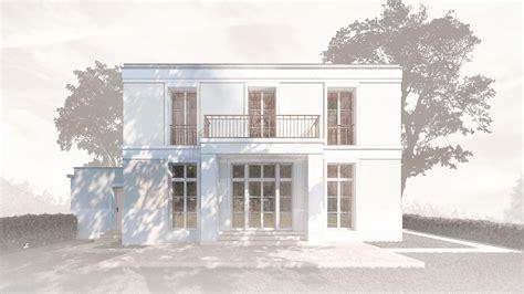 fassaden gesimse realisierung eines landhauses mit klassischer pr 228 gung in