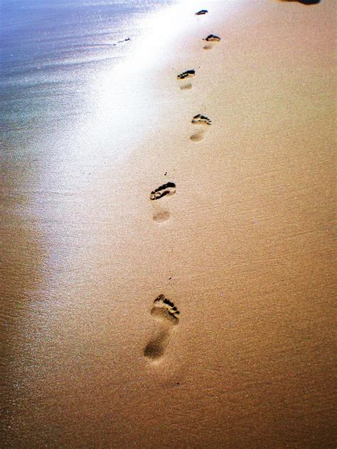 Footprints In The Sand Picture footprints in the sand wallpaper hd 2 moon light