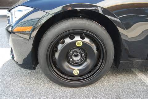 bmw f30 3 series spare tire