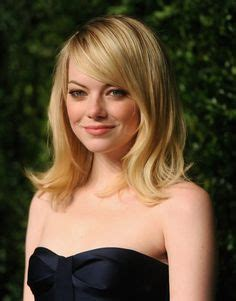 clavicut curly hair emma stone shoulder length hair google search hair