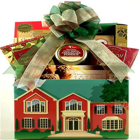 house gift no place like home housewarming gift basket