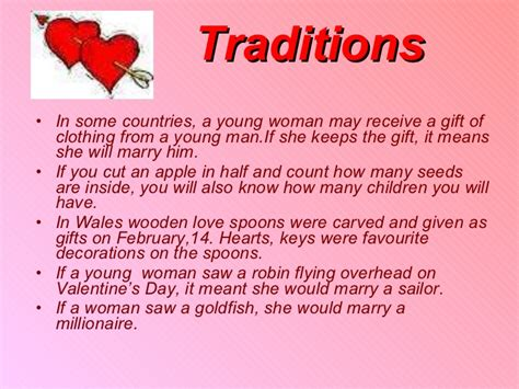 valentines traditions my class resources st s day