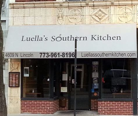 S Kitchen Southern Ave Front Of Entrance To Luella S Southern Kitchen 芝加哥