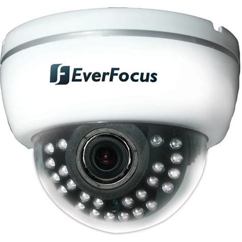 Cctv Everfocus everfocus ed641 indoor 3 axis varifocal ir dome