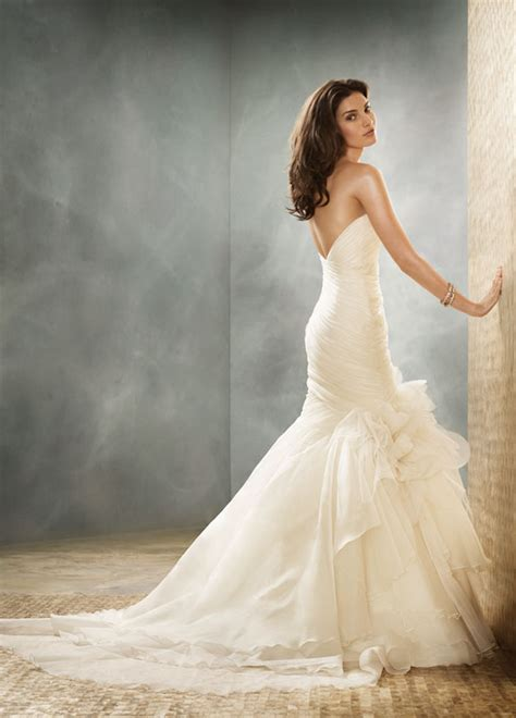 Kain Premium Organza Silk Original jim hjelm jim hjelm 8151 size 10 size 3 wedding dress