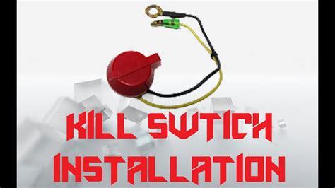 predator   kart kill switch installation youtube