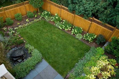 fenced backyard landscaping ideas landscape design ideas for small backyard at home