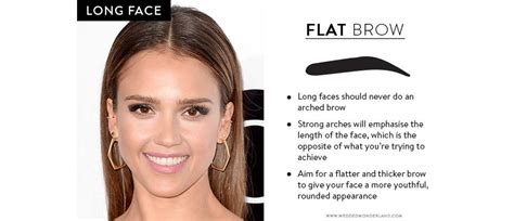 find the best eyebrow shape for your face shape magazine how to find the perfect wedding brow for your face shape