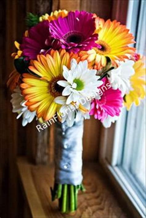 thinkin of home gerber daisy love krystal s non floral bouquet babies breath bridesmaid