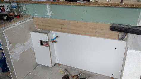 fixer plan de travail cuisine plan de travail 224 fixer sur muret pour cuisine americaine