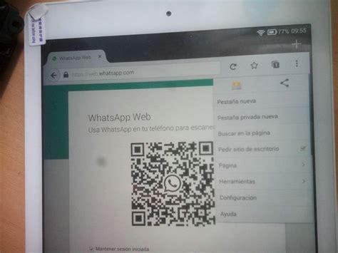 tutorial descargar whatsapp para tablet c 243 mo instalar whatsapp web en pc o tablet tutorial