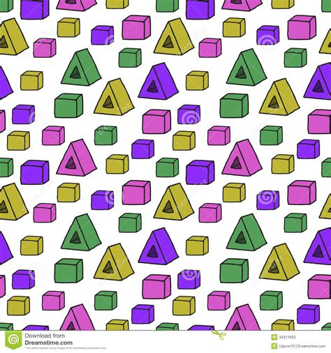 shape pattern website seamless pattern with color shapes stock photos image