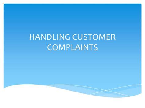 Handling A Complaint Letter Customer Customercomplaintmanagement Siddanna M Balapgol