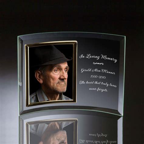 memorial picture frames memorial glass vertical 5x7 photo frame