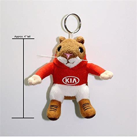 Kia Hamsters Toys by Kia Hoody Hamster Stuffed Plush Key Chain Import It All