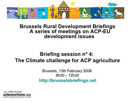Climate Challenge The by The Climate Challenge For Acp Agriculture