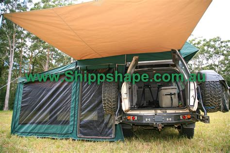 main tent and awning the homestead shippshape roof top tents