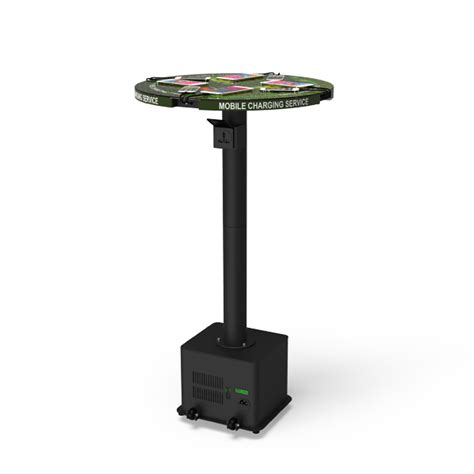 charging station table mobile device charging table with 45ah battery