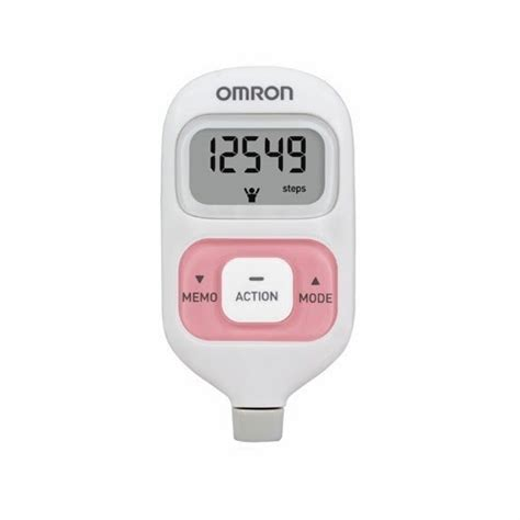 Omron Hj 203 Pedometer Pink 45032 by One Stop Healthcare And Educational Equipment