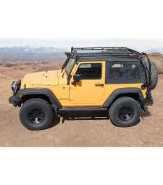 jeep jk 2door 183 ranger rack 183 multi light setup gobi racks