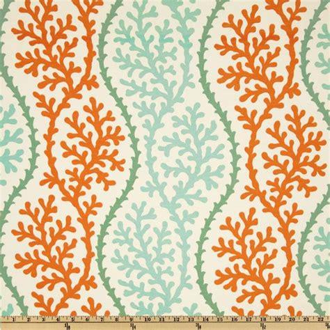 pattern outdoor fabric p kaufmann indoor outdoor coral splendor stripe coral