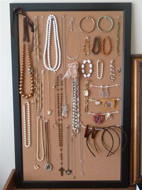 how to make a jewelry board how to cork board jewelry display requies