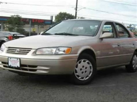 1999 Toyota Camry Starter Problems 1999 Toyota Camry Problems Manuals And Repair