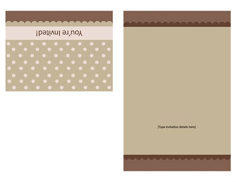 Powerpoint Quarter Fold Card Template by Cards Office