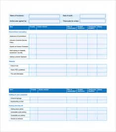 sample action plan template download free documents in