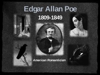 edgar allan poe literary biography edgar allan poe powerpoint presentation his philosophy