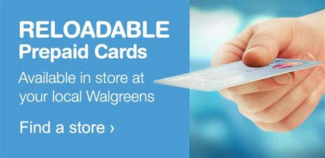 Walgreens Reloadable Gift Card - reloadable prepaid cards walgreens