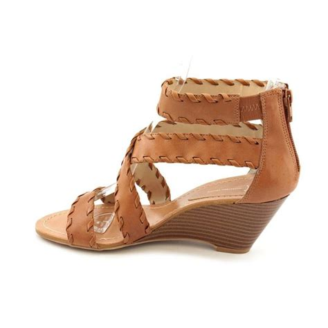 inc s shoes size 8m strappy platforms wedges