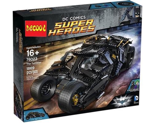 Mobil Batman Lepin 07047 Bathero The Batman Classic Car lepin 07018 batmobile kryptonite interception batman luthor model building kit