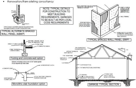 build a garage plans project working idea where to get garage framing plans
