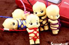 kewpie yakuza hoodlum dollies the choryu roppongi yakuza kewpie doll is
