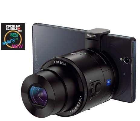 sony dsc qx100 smartphone attachable lens style camera