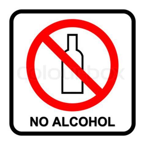 no alcohol sign | stock photo | colourbox