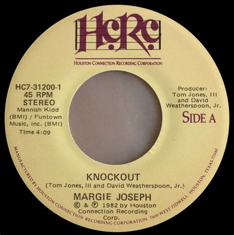 Margie Joseph Knockout margie joseph knockout vinyl at discogs