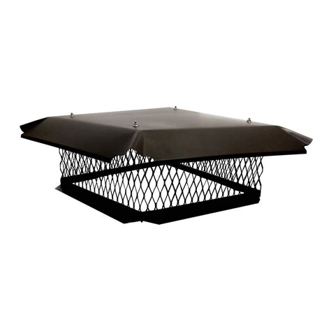 home depot chimney cap master flow 13 in x 13 in galvanized steel fixed chimney