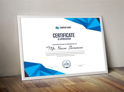 corporate certificate template high quality corporate certificate template 000855