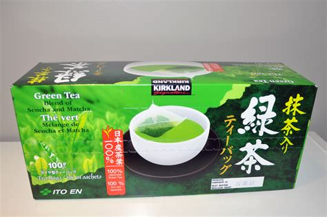 Green Detox Drink From Costco by Kirkland Brand Green Tea From Costco A Blend Of Sencha