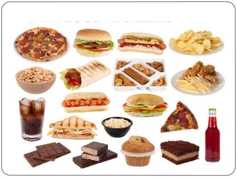 Junk And Fast Food Presentation Fast Food Ppt Slides
