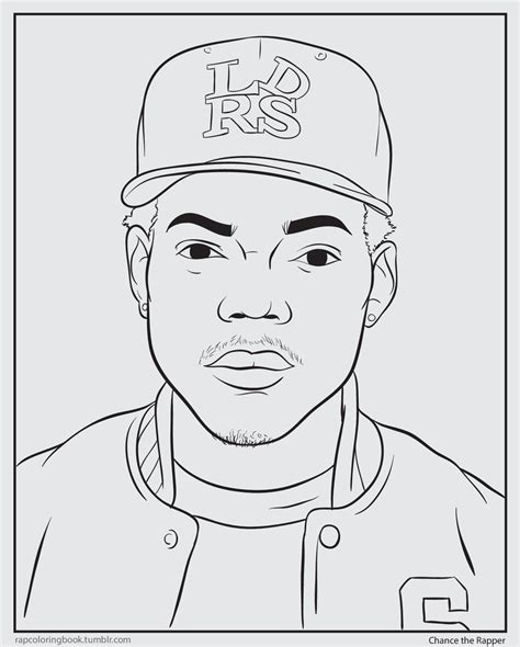 coloring book chance the rapper itunes version chance coloring book cover coloring pages