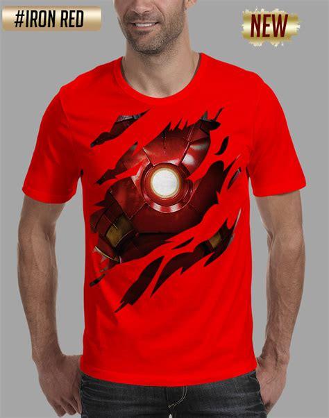 Kaos Cowok 3d jual tshirt baju kaos pria 3d ironman mr r store