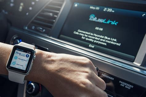 hyundai blue link app for apple launched