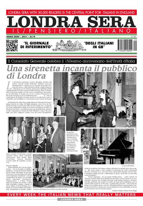 consolato generale d italia a londra londra sera numero 19 maggio 2011 newsweek italiano a